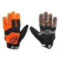 Dlouhoprsté MTB rukavice FORCE  AUTONOMY oranžové